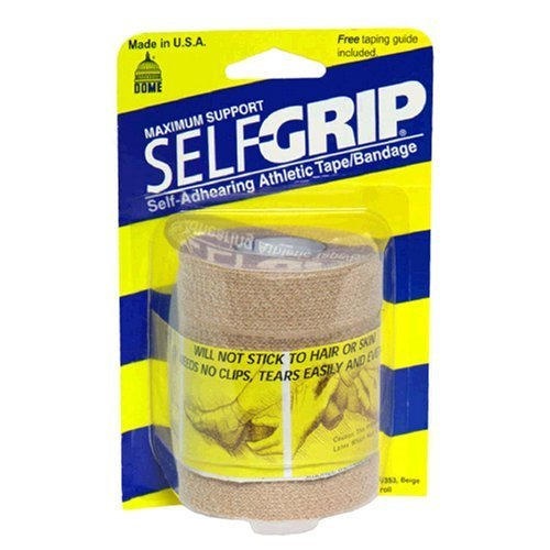 Selfgrip Maximum Support Self-Adhering Beige Athletic Tape/Bandage 3 Inch