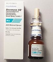 Beconase Aq 42 Mcg Ns Spray 25 Gm By Glaxosmithkline.
