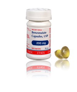 Benzonatate 100 Mg Caps 100 By Caraco Pharma.