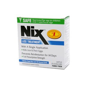 Nix Creme Rinse 1% Family Pack 2 x 2 Oz