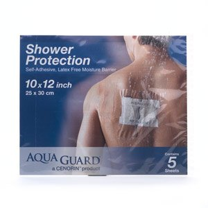 Image 0 of Aquaguard Moisture Barrier Latex Free 10 X 12 Inches Dressing 14 Each Case