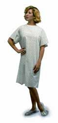 Duro-Med - Adult Convalescent Gown Extra Large Blue One In Each Case