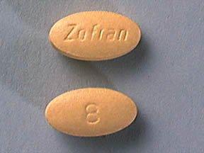 Zofran 8 Mg Tabs 30 By Glaxo Smith Kline.