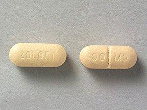 Zoloft 100 Mg Tabs 30 By Pfizer Pharma