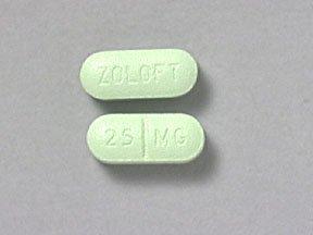 Zoloft 25 Mg Tabs 30 By Pfizer Pharma