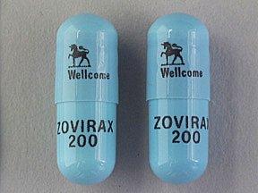 Zovirax 200 Mg Capsules 100. By Prestium Pharma