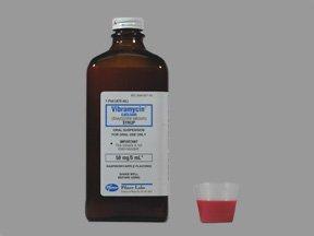 Vibramycin 50 Mg/5Ml Syrup 16 Oz By Pfizer Pharma