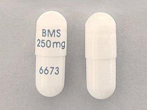 Videx Ec 250 Mg SA Caps 30 By Bristol Myers.
