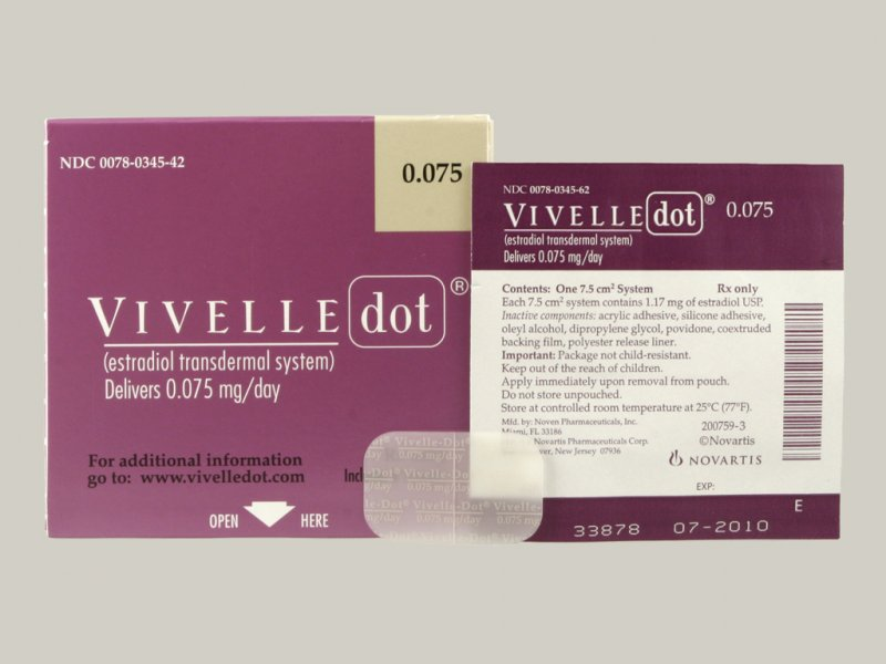 Vivelle patches after ivf signs