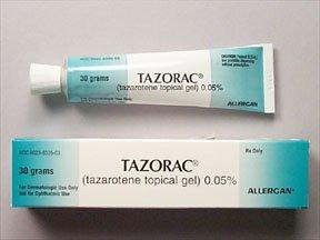 Tazorac 0.05% Topical Gel 30 Gm By Allergan Inc.