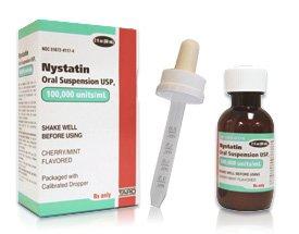 Prescription Drugs-N - Nystatin - Nystatin 100Mu/ml