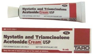 what does topocal nystatin and triamcinolone acetonide do