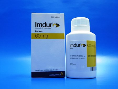 Imdur 60mg Tablets 1X100 each Mfg.by: Schering Corporation USA.