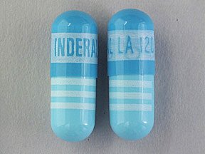 Inderal LA 120 Mg Caps 100 By Akrimax Pharma.