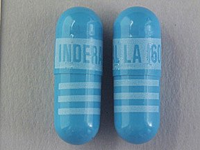 Inderal LA 160 Mg Caps 100 By Akrimax Pharma