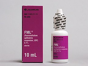 Fml 0.1% Drops 1X15 ml Mfg.by: Allergan Inc USA.