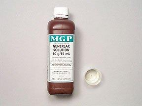 Generlac 10gm 15ml Solution 473 Ml By Morton Grove Pharma