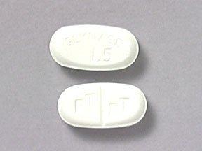 Glynase 1.5mg Tablets 1X100 each Mfg.by: Pfizer USA.