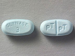 Glynase 3mg Tablets 1X100 each Mfg.by: Pfizer USA.
