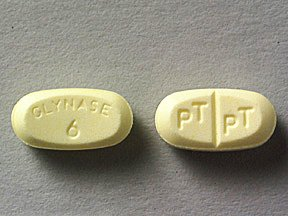 Glynase 6 Mg Tabs 100 By Pfizer Pharma