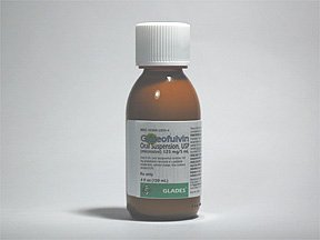 Griseofulvin 125mg/5ml Suspension 120 Ml By Actavis Pharma