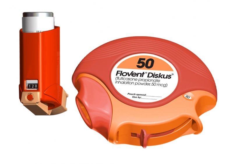 Flovent Diskus 250mcg Inhaler 1X60 each Mfg.by: Glaxo Smithkline USA.