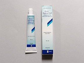 Duac Topical Gel 1-5% Gel 45 Gm By Glaxosmith Kline.