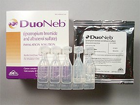 Duoneb 2.5-0.5 mg/3ml Ampoules 60X3 ml Unit Dose Package Mfg. By Dey L P - Bran