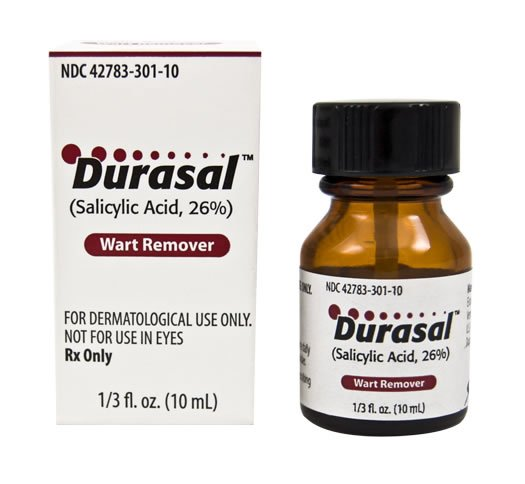 Durasal 26% Liquid 1X10 ml Mfg.by: Elorac Inc - Brand USA.
