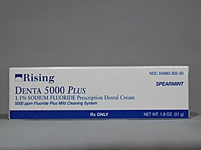 Denta 5000 Plus 1.1% Cream 51 Gm By Rising Pharma.