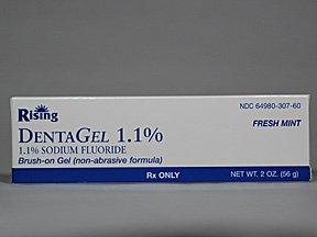 Dentagel 1.1% Gel 56 Gm By Rising Pharma.