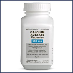 Calcium Acetate 667 Mg Dosage