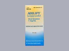 Abilify 1Mg/Ml Solution 150 Ml By Bristol Primary Care