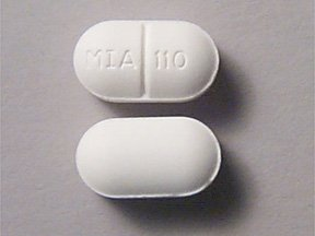 Acetamin/Butalbital/Caffeine 325-50-40 mg Tablets 1X100 Mfg. By Mikart Inc
