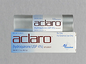Aclaro 4% Emulsion 1X48.2 Gm Mfg.By: Jsj Pharmaceuticals USA