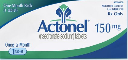 Actonel 150 Mg Tablets 1 By Actavis Pharma.