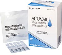 Acuvail Opth Pf 0.45% Drops 30 By Allergan Inc.