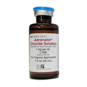 Adrenalin Chloride Nasal .1% Solution 30 Ml By J H P Pharma