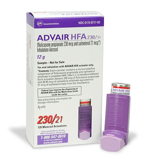 Advair hfa inhaler
