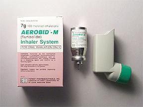 Prescription Drugs-A - Aerobid Inhaler - Aerobid-M 250Mcg