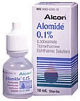 Alomide 0.1% Drops 10 Ml By Alcon Labs.