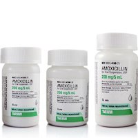 Amoxicillin 125-5 Mg-Ml 150 Ml Suspension By Teva Pharma.