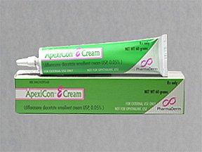 Apexicon-E .05% Cream 1X30 Gm Mfg. By Pharmaderm