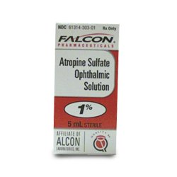 Atropine Sulfate 1% Opthalmic Drop 1X15 ml By Bausch & Lomb