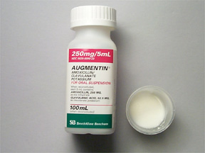Augmentin 250-62.5 mg/5ml Powder Form Syrup 1X100 ml Mfg. By Dr.Reddy