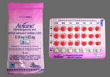 Aviane 0.1-0.02 Mg Tabs 6x28 By Teva Pharma.