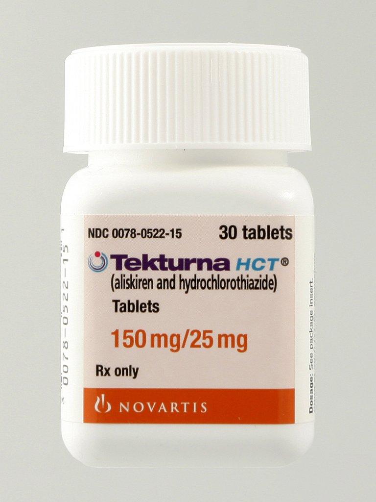 Tekturna Hct 150-25 Mg Tabs 30 By Novartis Pharma.