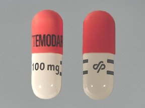Temodar 100 mg Capsules 1X14 Mfg. By Schering Corporation