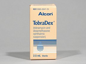 Tobradex Eye Drop Susp 2.5 Ml By Alcon Labs.