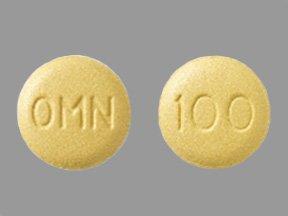 Topamax 100 Mg Tabs 60 By J O M Pharma.